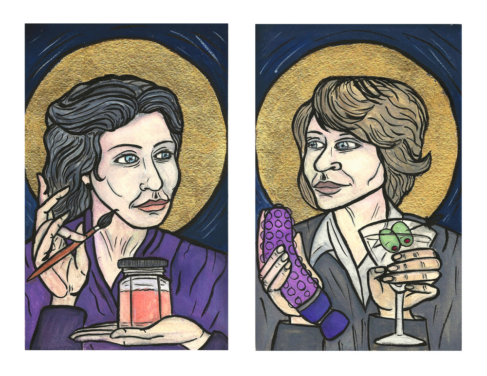 Patron Saints of Geriatric Self-Love