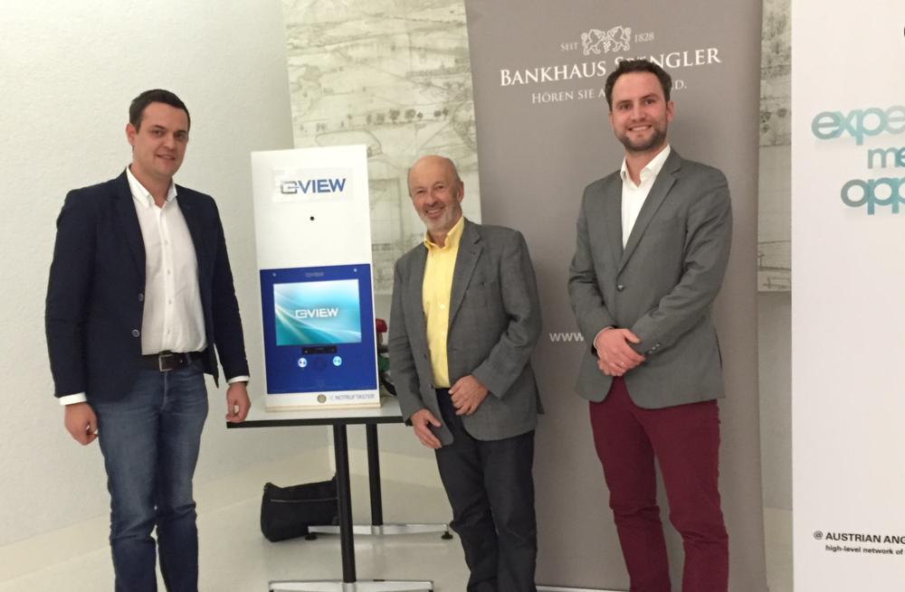 Johannes Schober (VIEW), Dr. Johann Hansmann & Armin Braunsberger (VIEW)