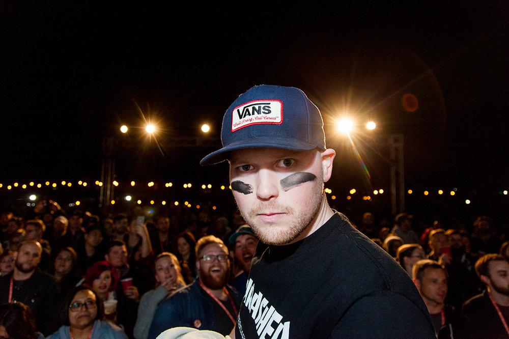 Ink Warrior Blake Stevenson, a.k.a. @jetpacksandrollerskates.