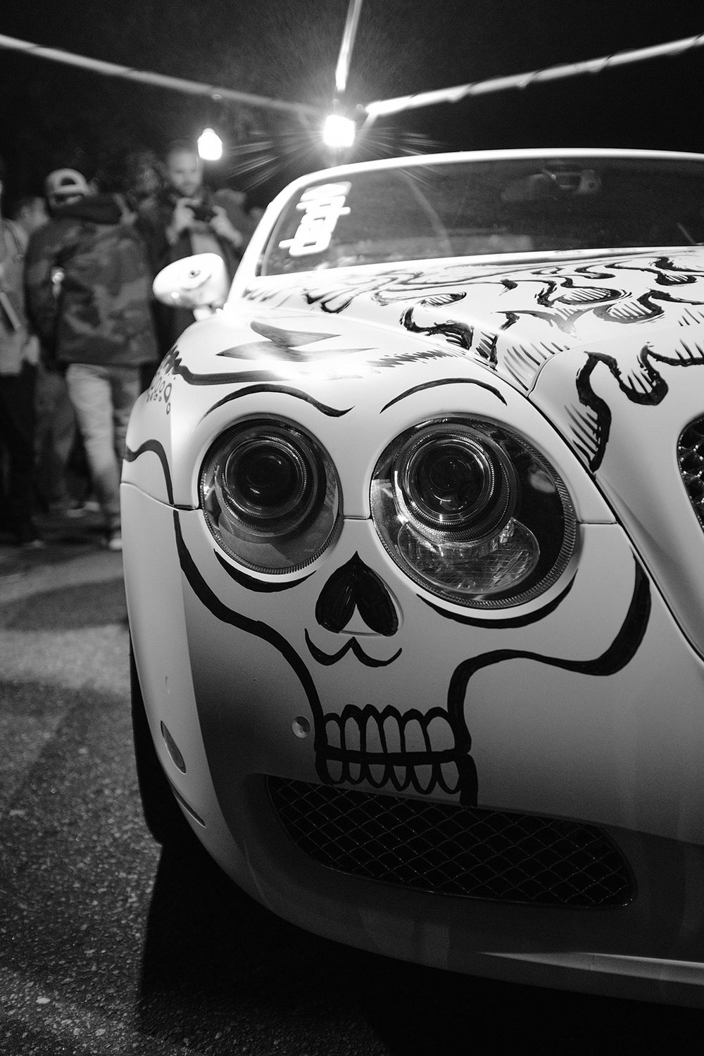 "I saw the headlight and thought, ""Skull!"" Von, Skullmaster, made it awesome."
