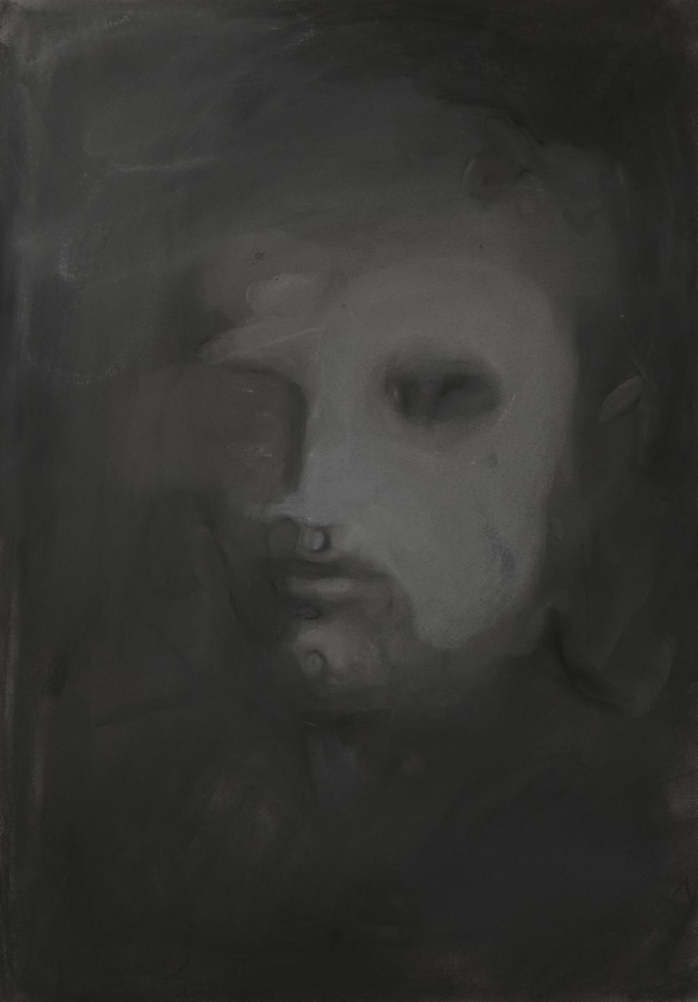 Pastel on paper    59 X 42