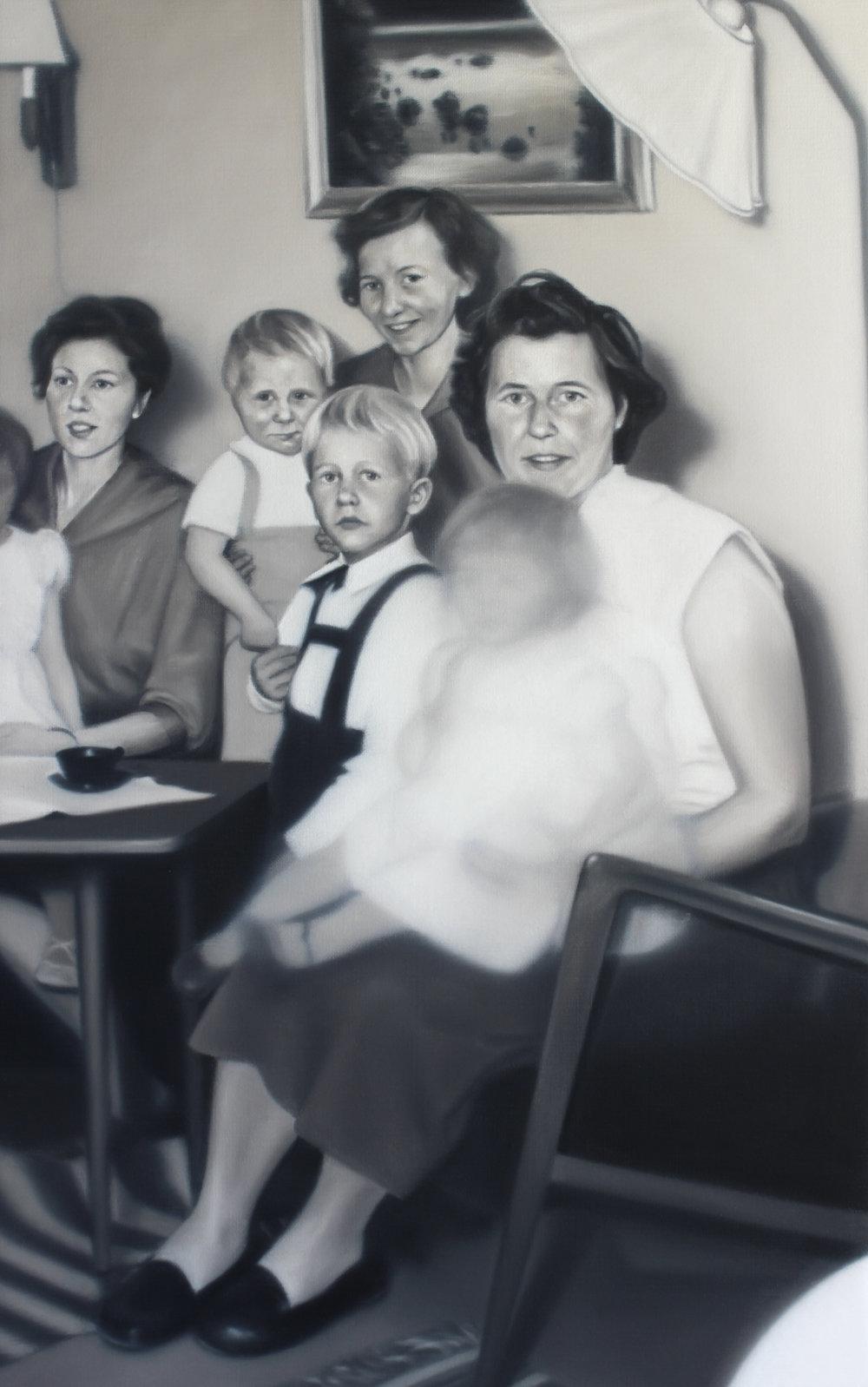 Oil on Canvas  51 x 81 cm  2017