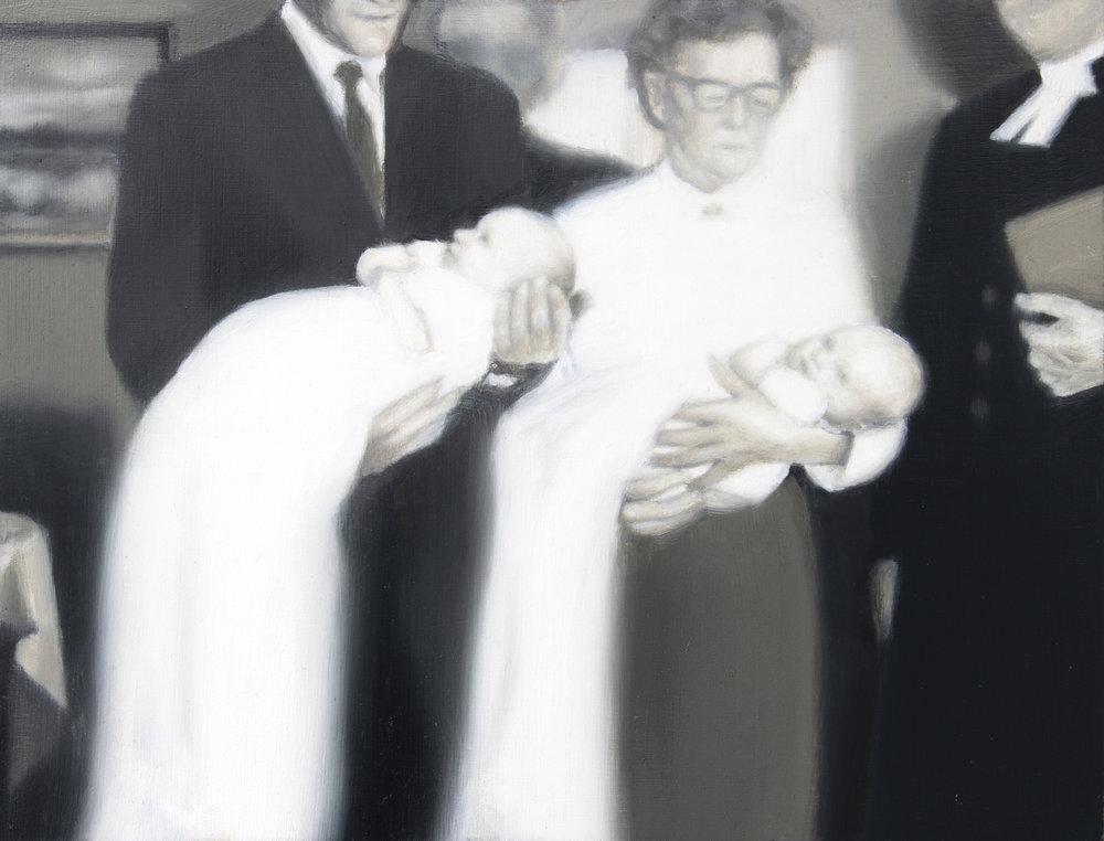 Del av serien  Hågkomst / Remembrance   Oil on Canvas  16 x 21 cm  2018