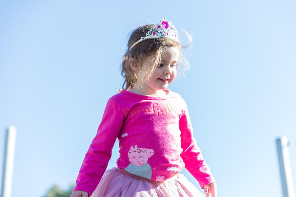 Princess climbing
