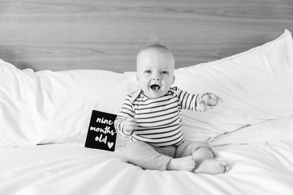 Happy (yelling!) baby!