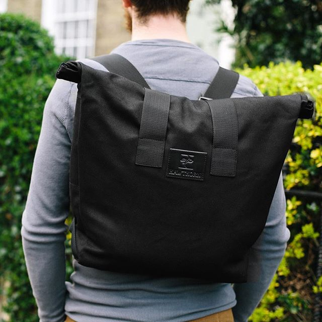 We are back..it's been a long ol year, with moving countries having babies but we're back. And we are proud to introduce our new rolltop rucksack, ample storage, comfortable and ready for anything.  Visit our web store for more.. @hawthornrucksacks #hawthornrucksacks #accessories #menswear #womenswear #madeinengland