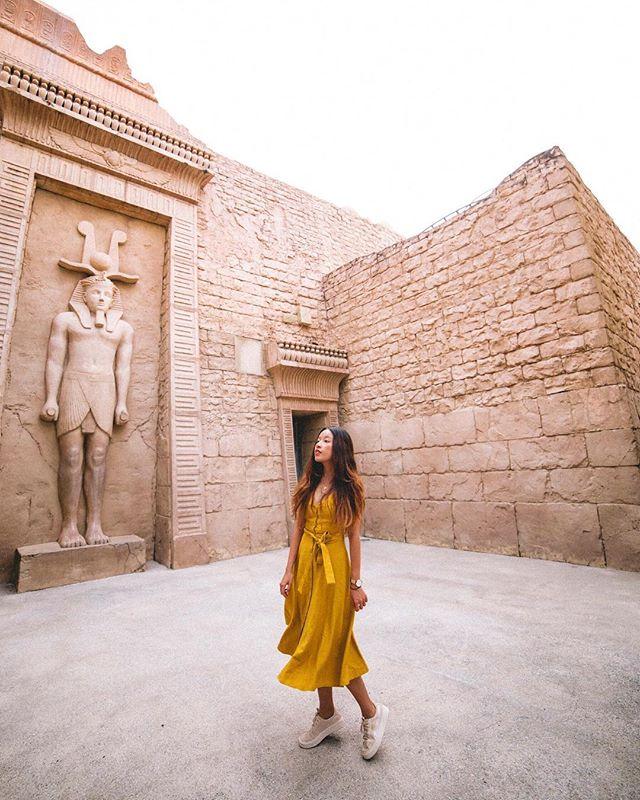 Egypt town ✨ — in @theeditorsmarket 🌼
