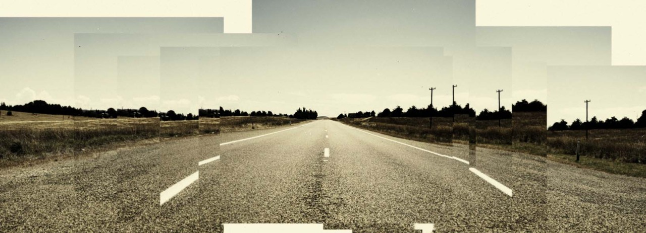 empty roads are not easy to find…
