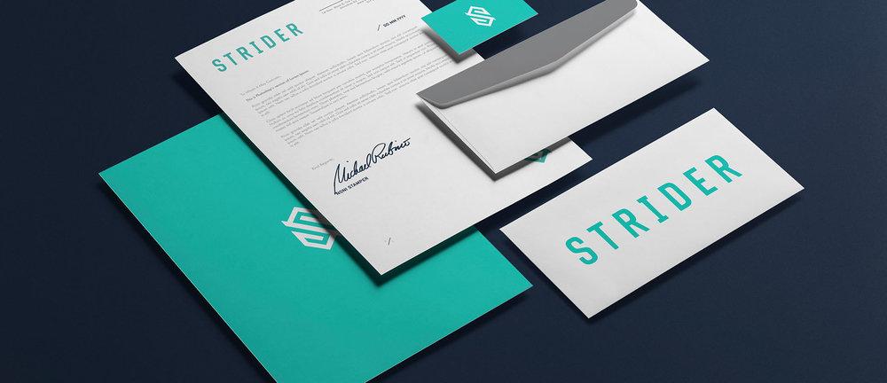 Strider | Brand Identity