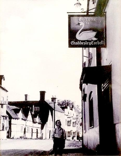 Chaddesley Corbett in 1950