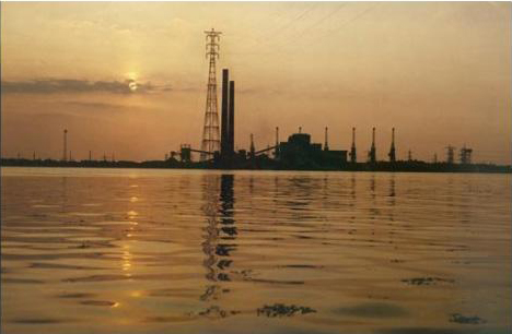 Film Still, William Raban, Thames Film, 1986, image courtesy the artist