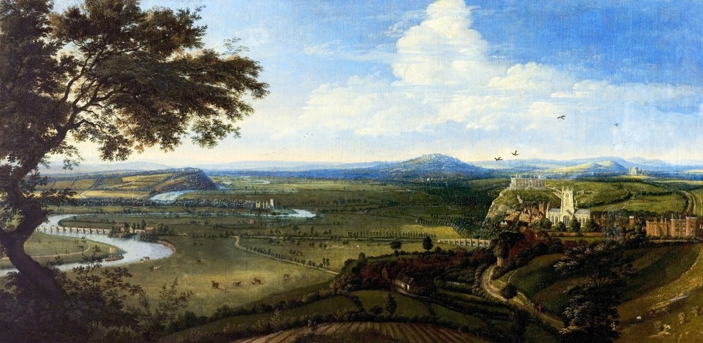 View of Nottingham from the East, Jan Siberechts, c.1695, NCM 1977-515 ©Nottingham City Museums & Galleries