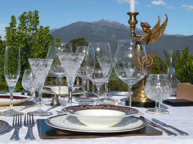 Offering fine dining by arrangement.