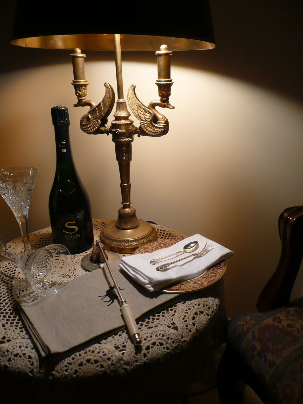 Enjoy the finest Champagnes on site.