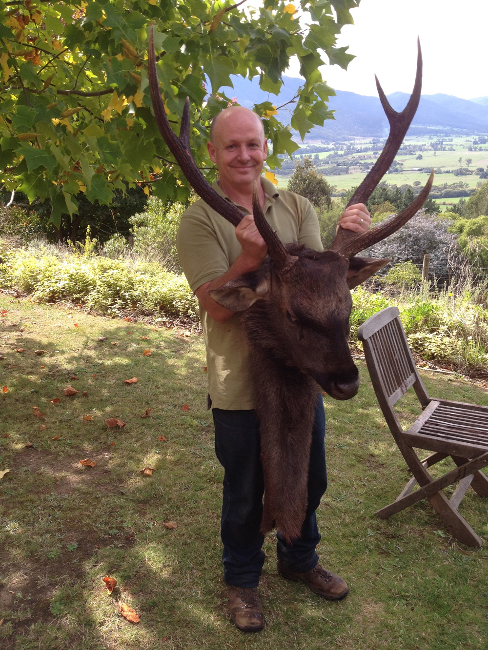 A Sambar Stag to remember.