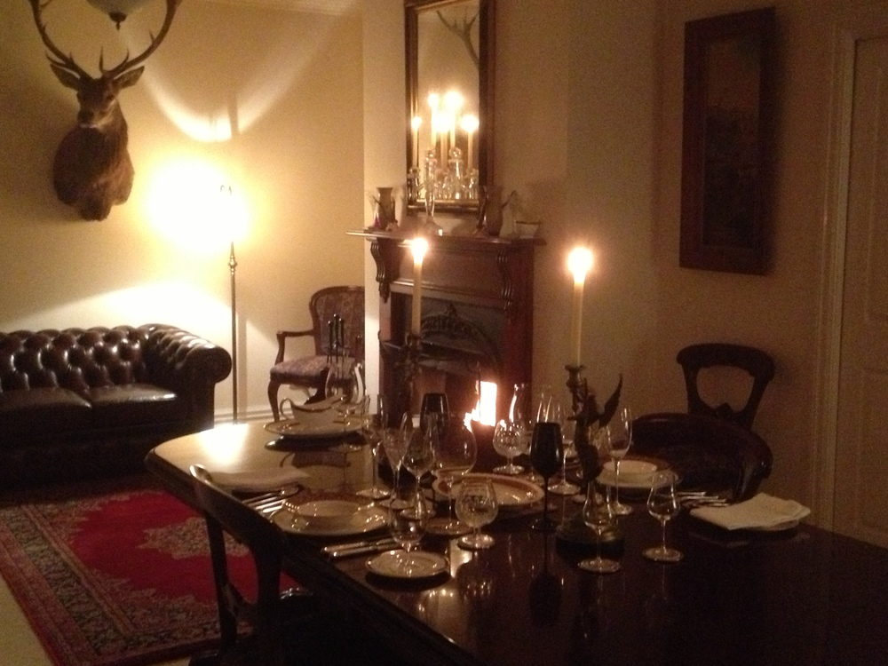 With private, silver service fine dining by arrangement.