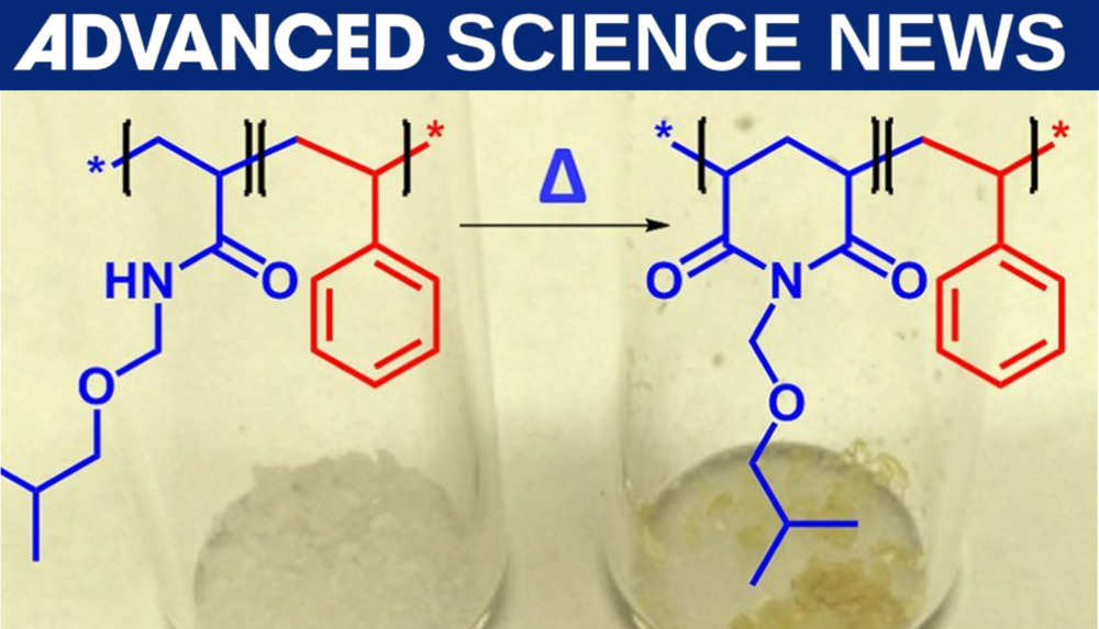 New publication in Macromol. Reaction Eng. gets highlighted in Advanced Science News!