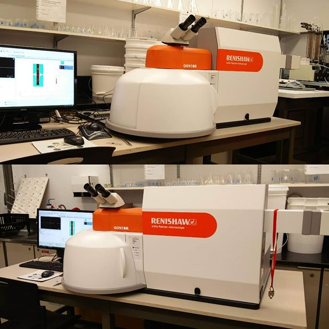 Its here and it's working perfectly! The beautiful Raman from @renishawraman . We get to play with this beauty and get some gorgeous spectra and maps. #soexcited #nicetime #👍#👌 . . . . . . . . . . . #engineering #phdlife #gradlife #student #science #research #nanotechnology #laboratory #lab #chemlab #organicchemistry #organicsynthesis #chem #bio #biochemistry #synthesis #studentlife #raman