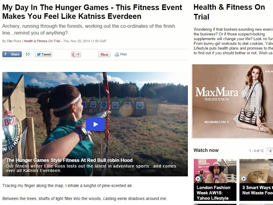 Yahoo Lifestyle, 20 November 2014