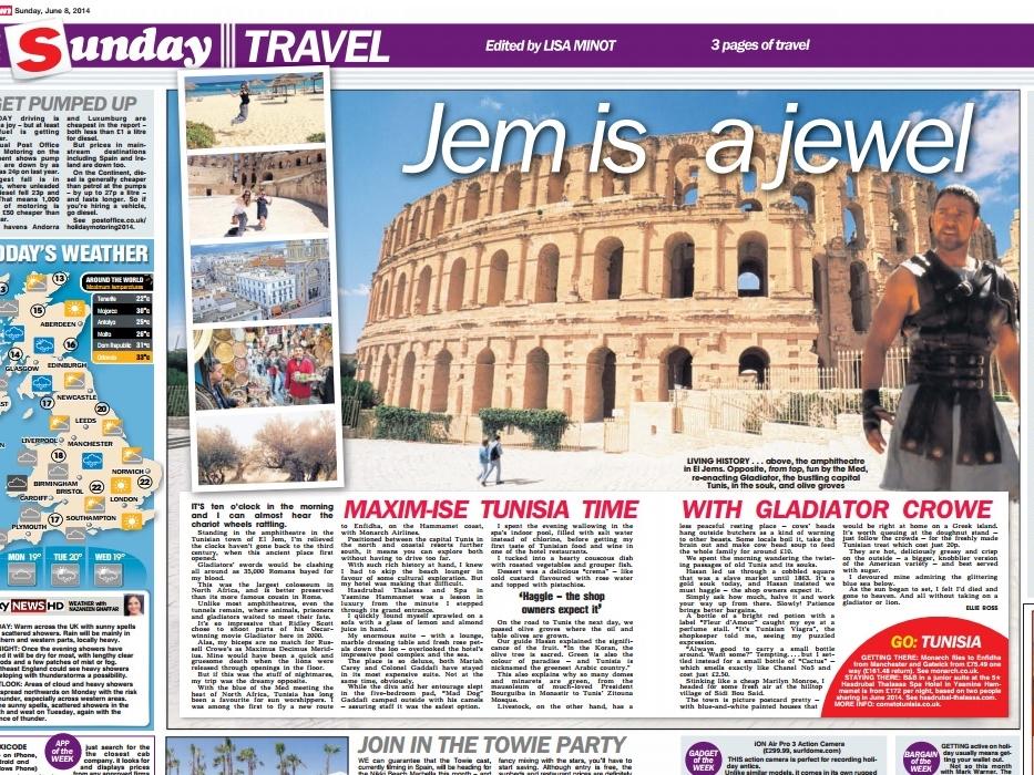 The Sun, 8 June 2014