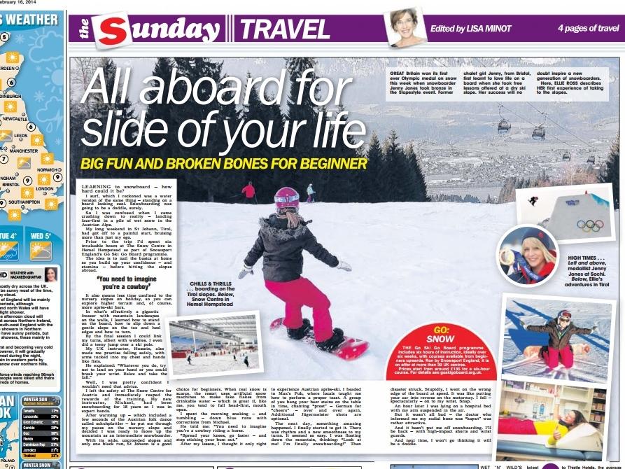 The Sun, 16 February 2014