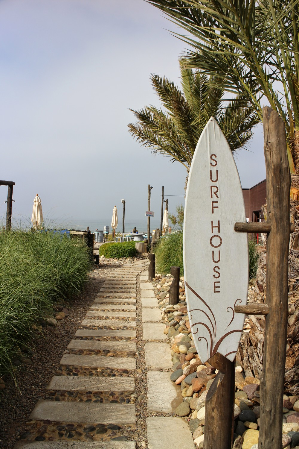 Path to the surf house