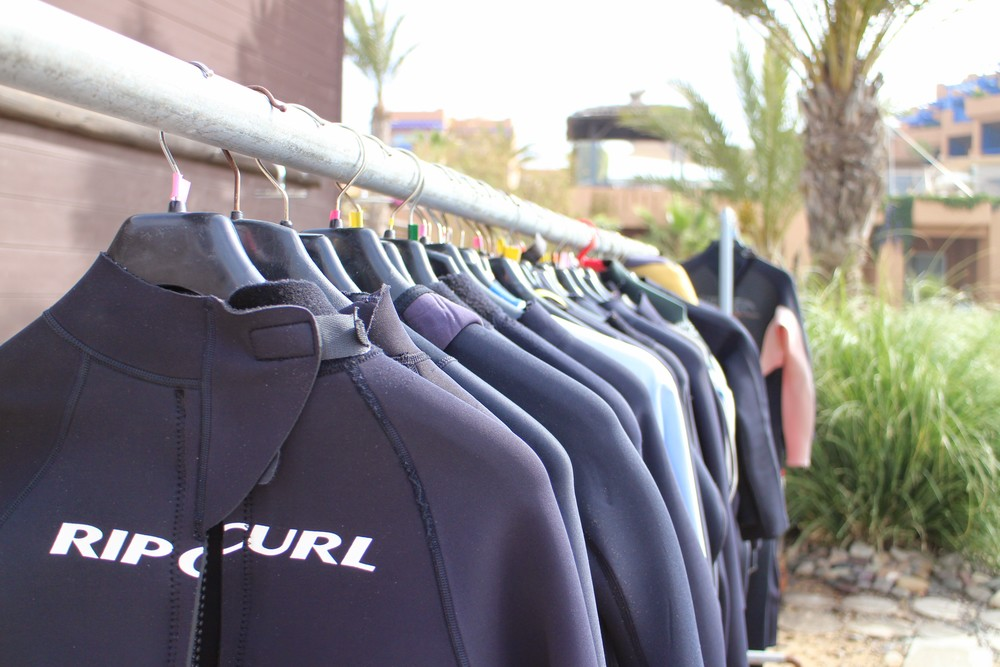 Wetsuits to hire