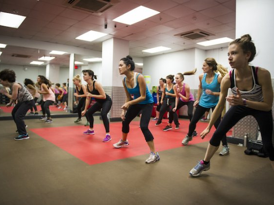 Try a fitness class instead of a gym membership