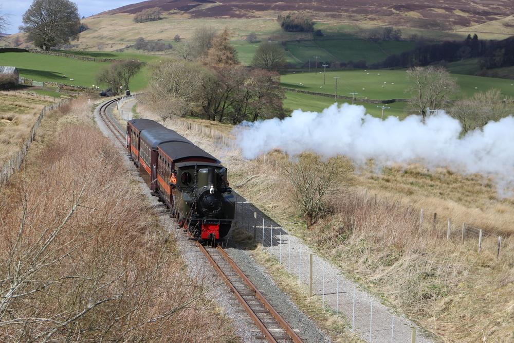 The steam train to Alston