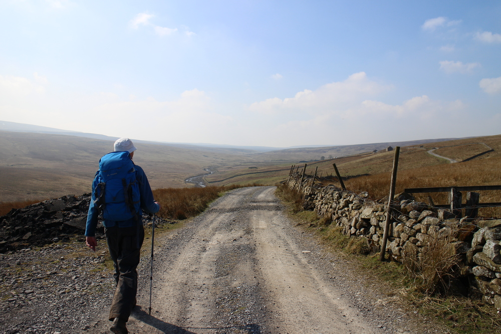 Walking 'the backbone of England'