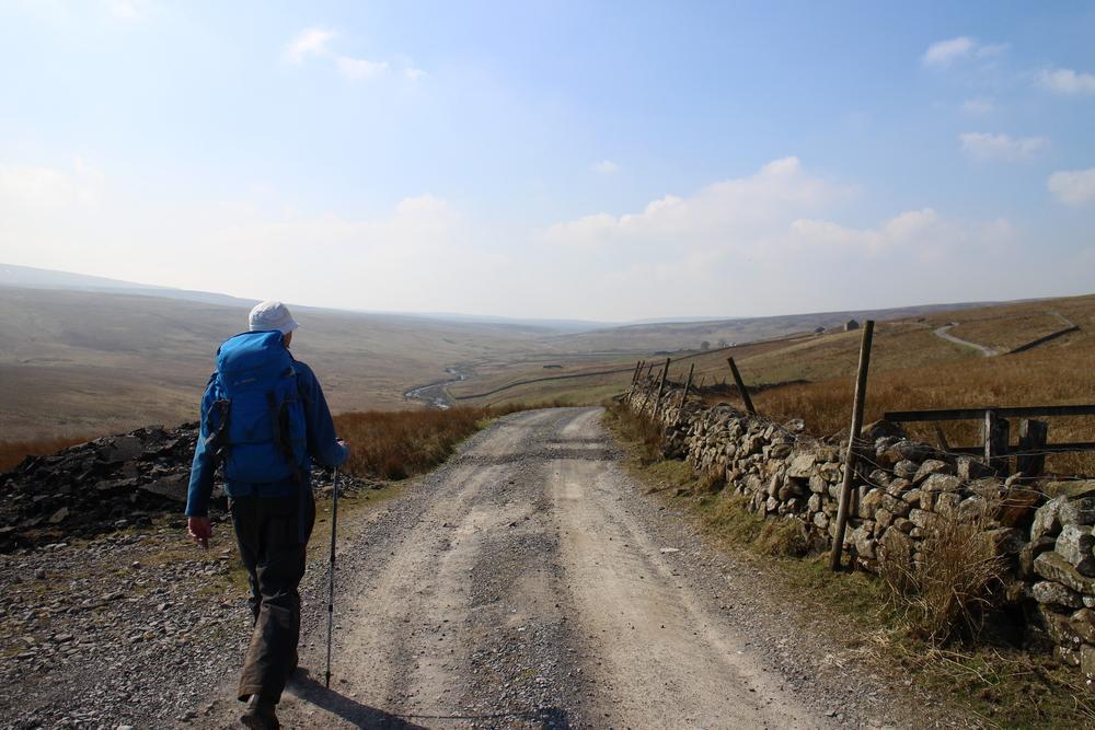 Walking 'the backbone of England'