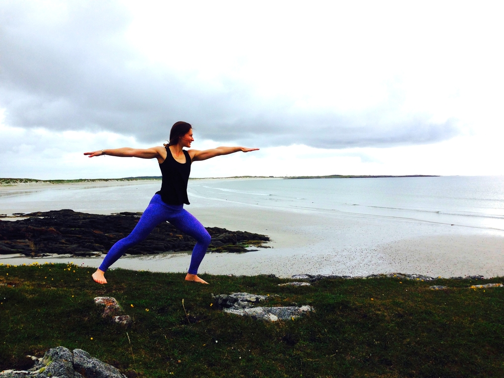 Tiny Fish leggings passed the test in Tiree
