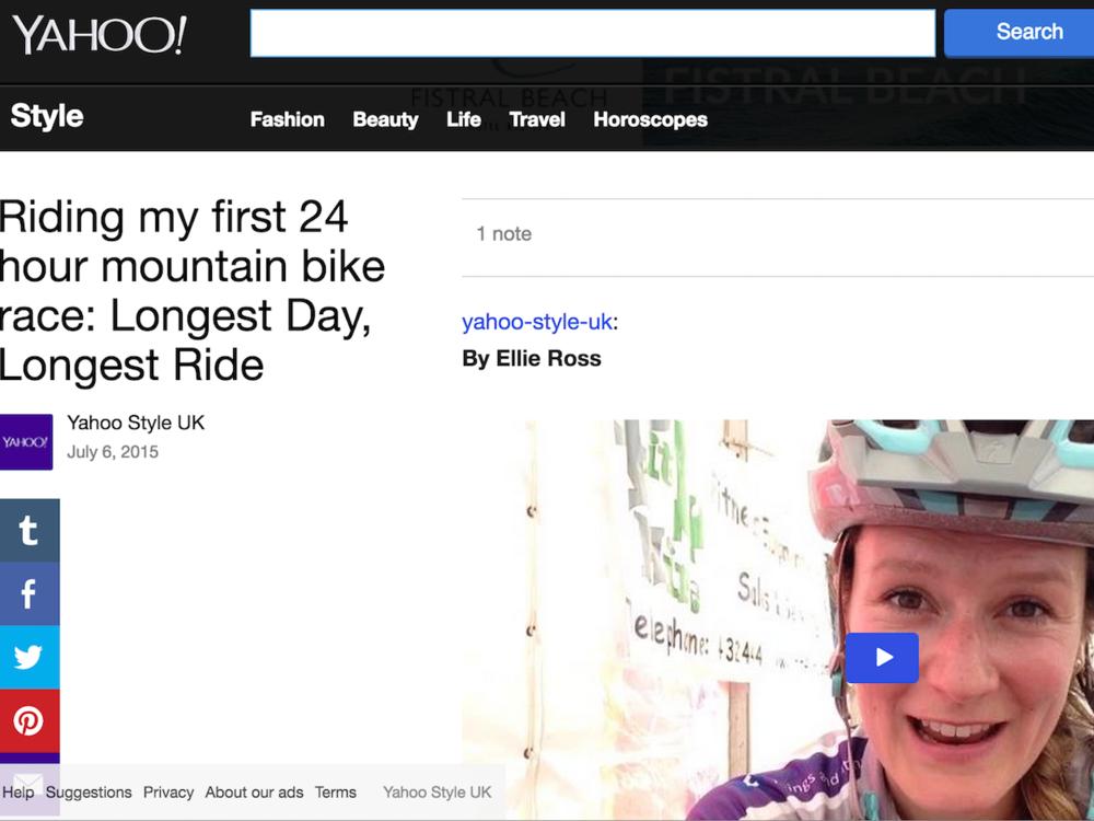 Yahoo Style, 6 July 2015