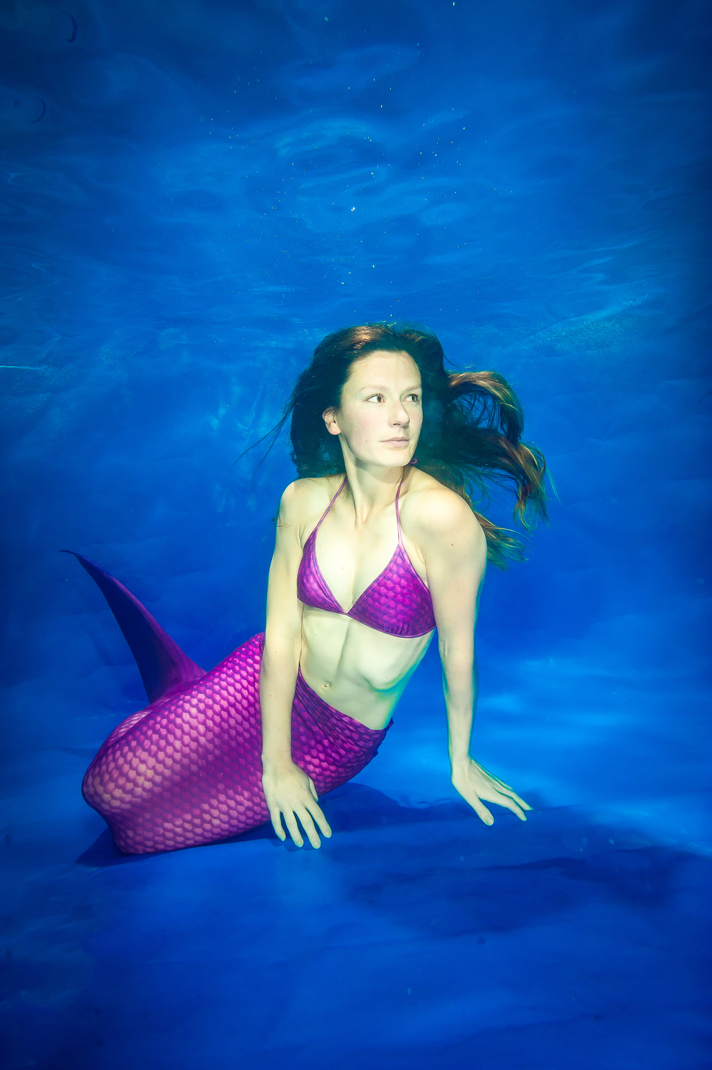 Learning the ropes at the UK's first mermaid school (Image: Alastair Scarlett)