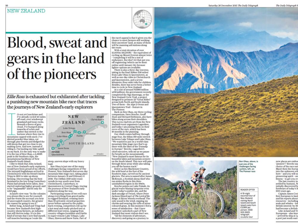 The Telegraph, December 26 2015