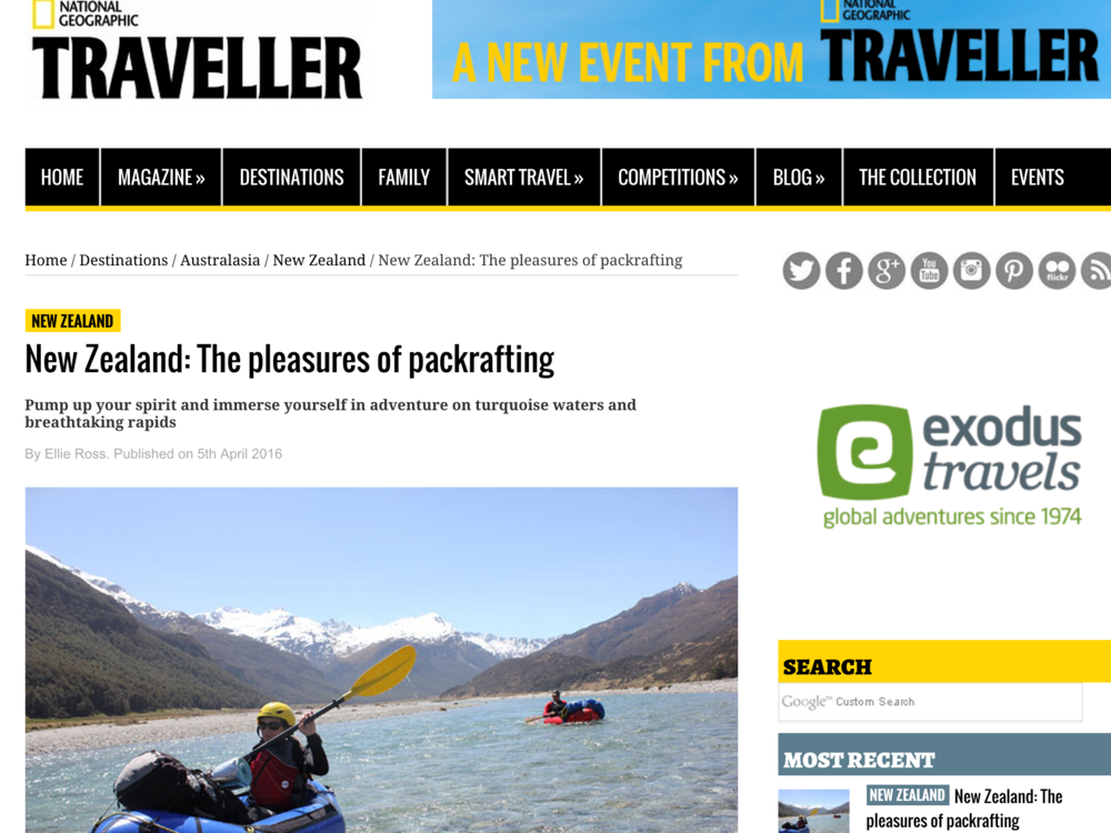 Nat Geo Traveller, April 5 2016