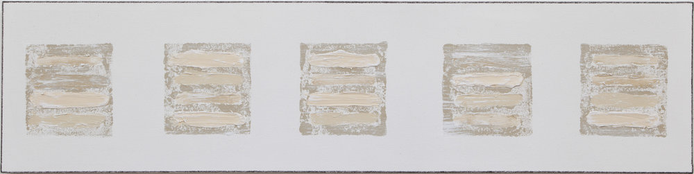 Winslow , 2018, mixed media, gesso on canvas_12x48.