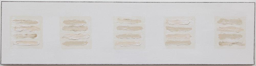 Yuma , 2018, mixed media, gesso on canvas_12x48.