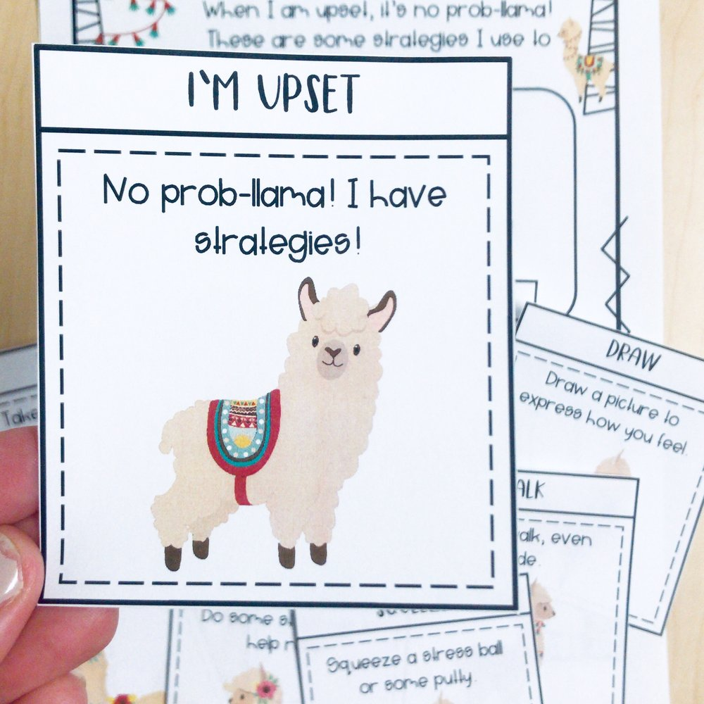 No Prob-llama! - Help your students learn problem-solving skills with this llama-themed activity.