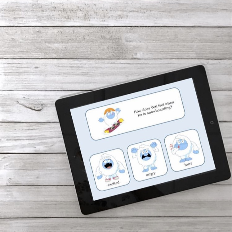Yet's Emotions - Help your students understand emotions with an interactive, no print, no prep activity!