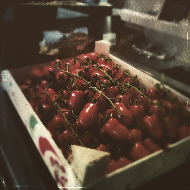 Fresh toms! #fishhousee9 #ethical #locallysourced #alwaysfresh #goodfood #london #londonfood #victoriapark #hackney