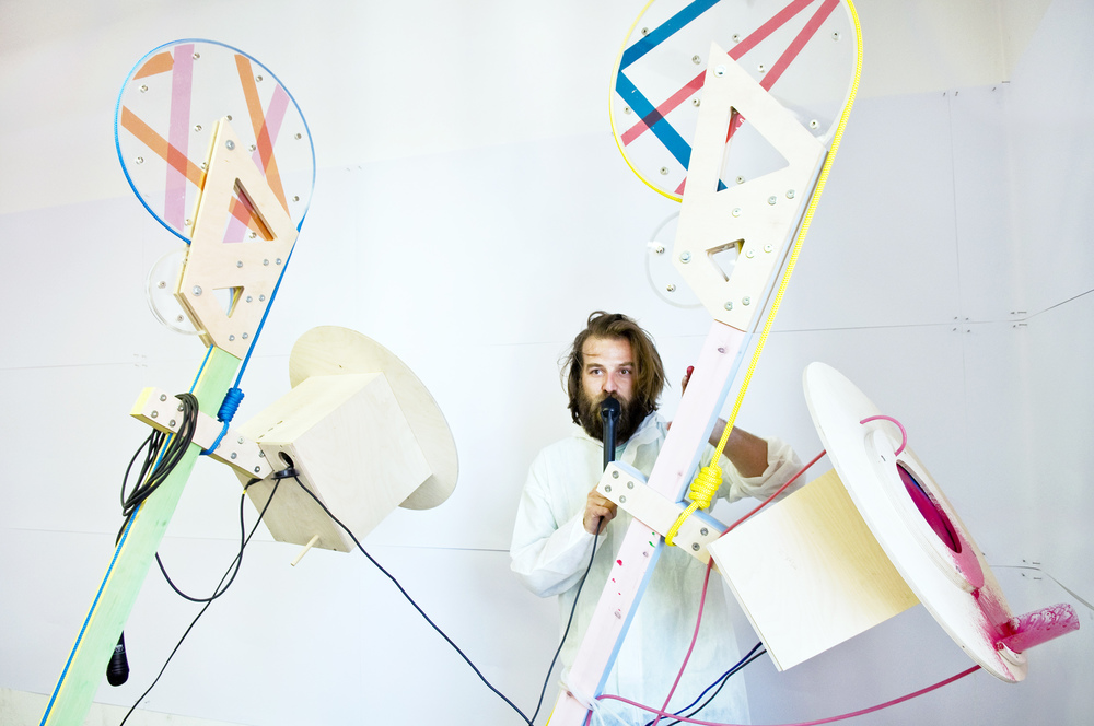 Exhibit and performing at RCA Paradise show during Milan Design Week _2012
