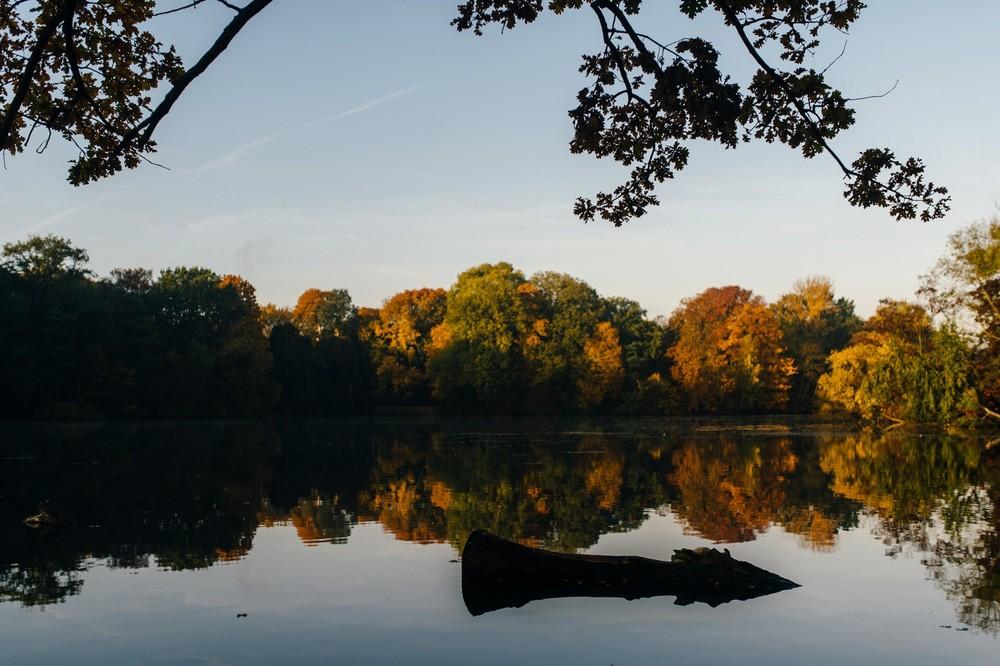 Herbst Treptower Park