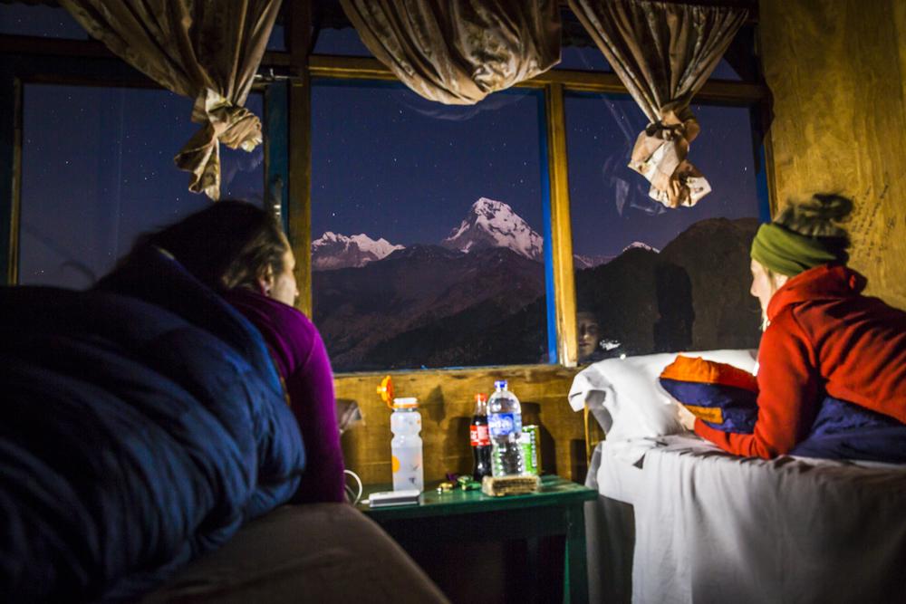 Ghorepani (2800 moh)
