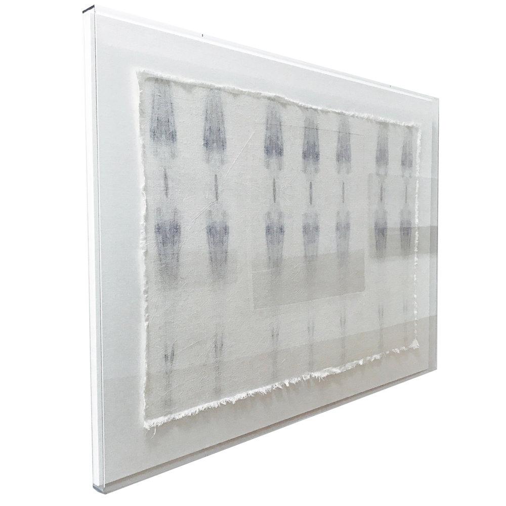 "Beneath Textile No. 3 | 60x45"" shown"