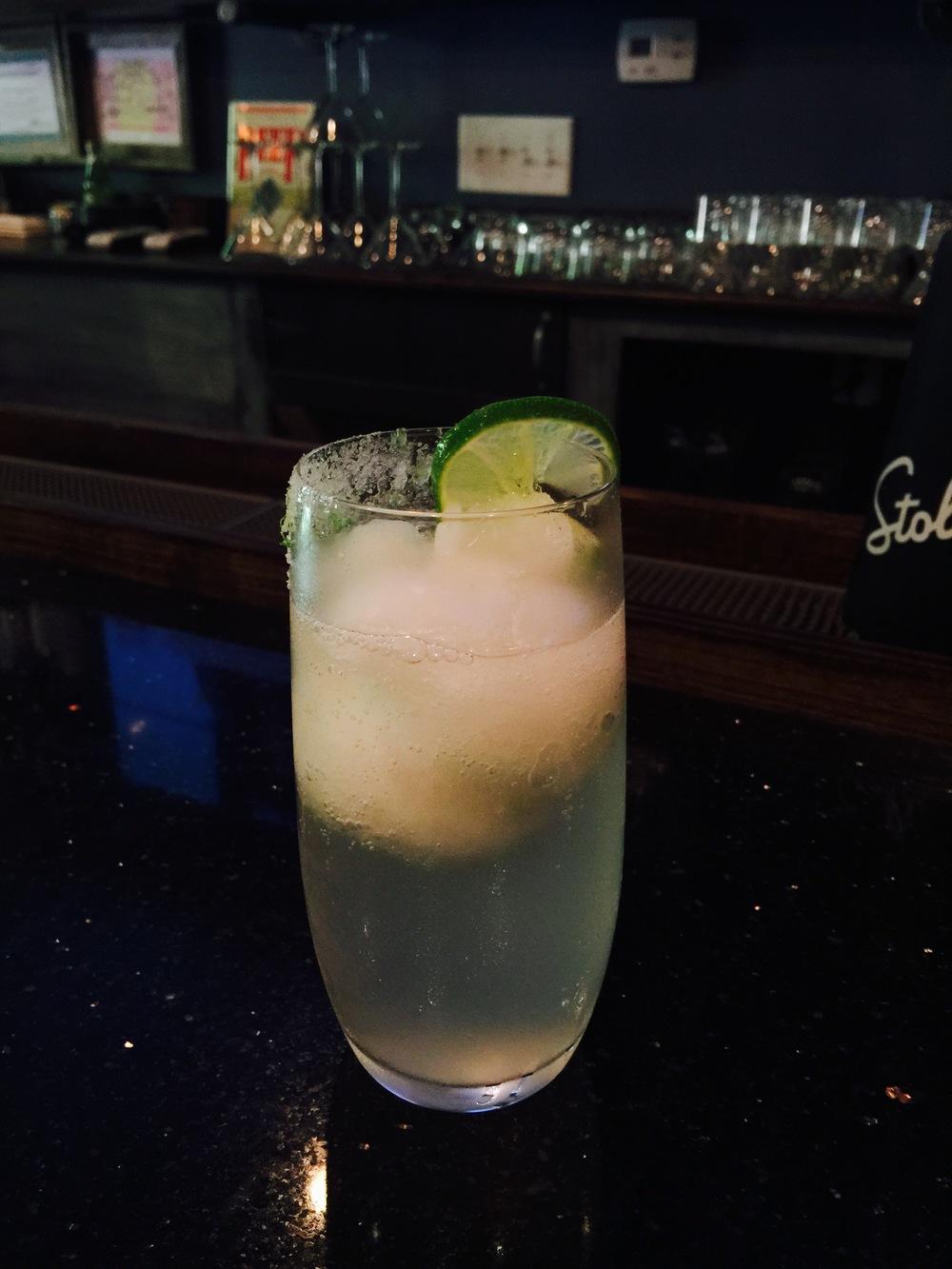 Ginger-Lime Float
