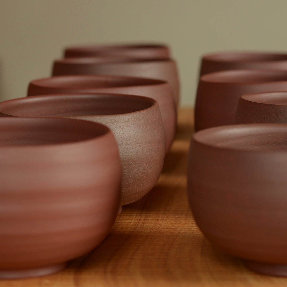 David Holden Local Clay Bowls.