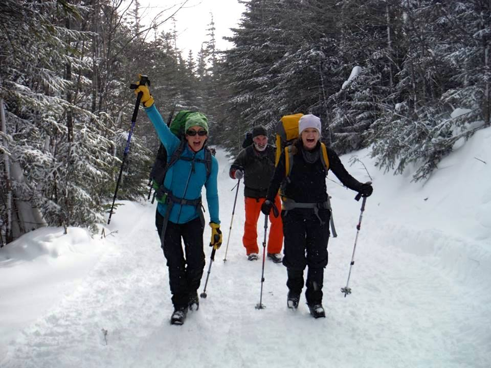 Go after an outdoor adventure!  This is a hike down from summiting Mount Washington.