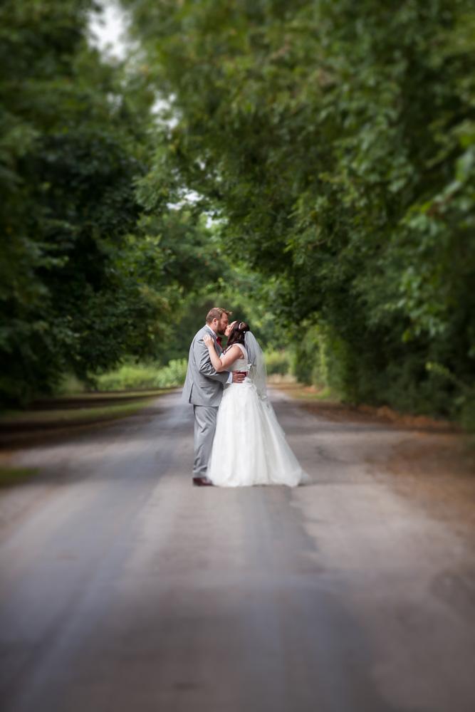 long pathway couple shot