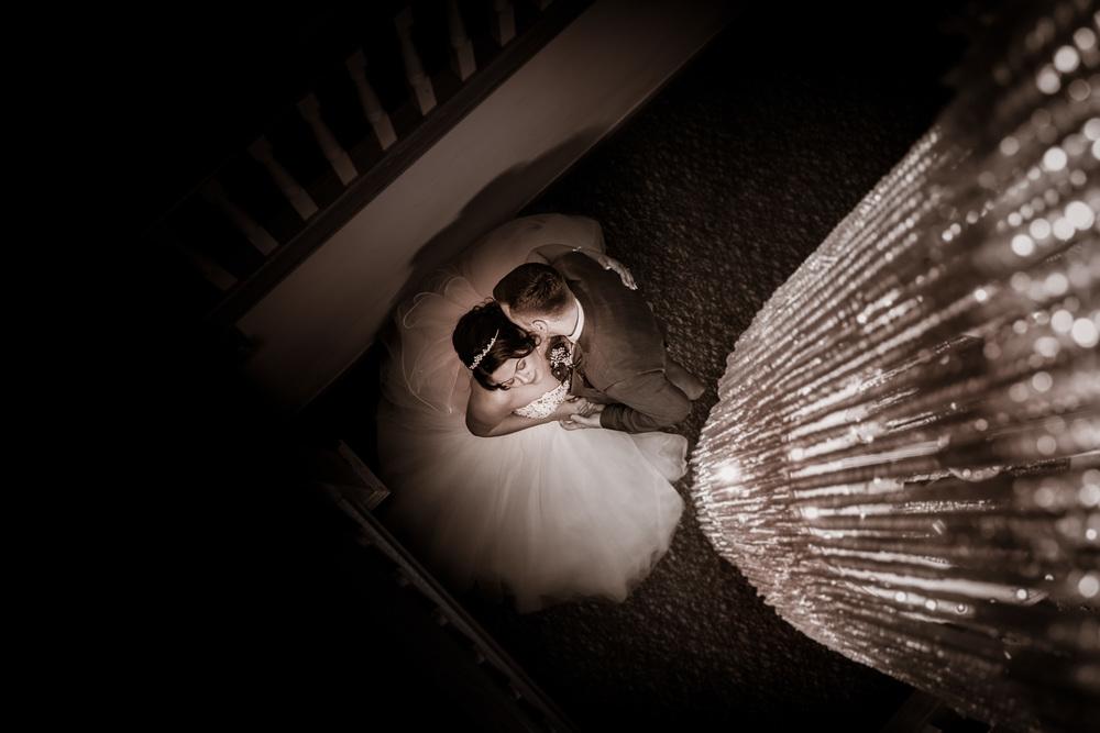 The chandelier shot